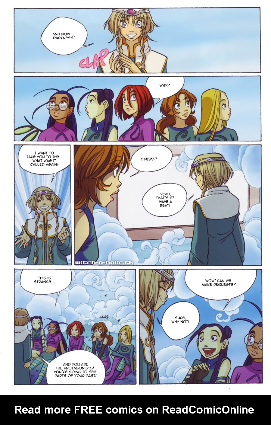 Read online W.i.t.c.h. comic -  Issue #139 - 18