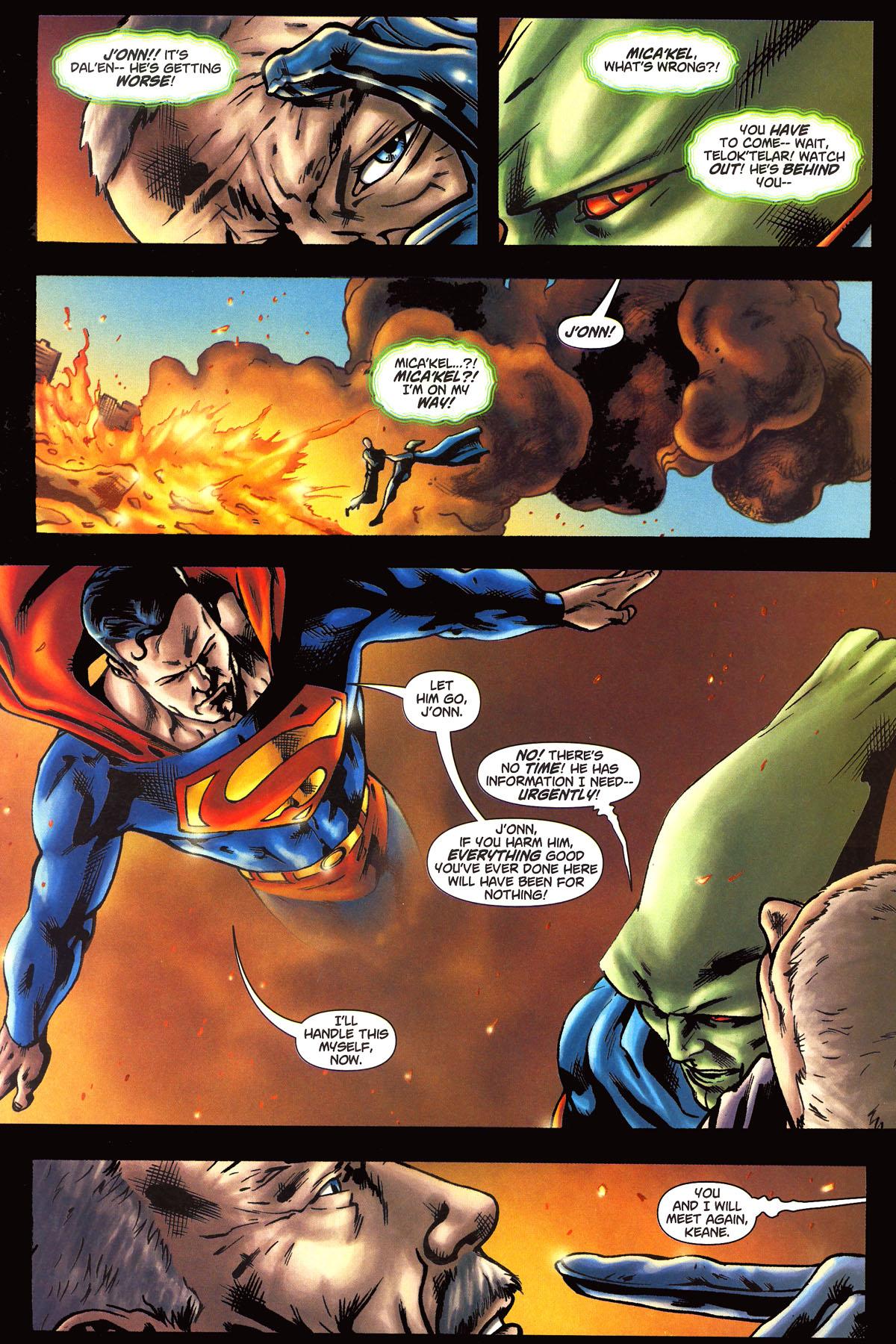 Read online Martian Manhunter (2006) comic -  Issue #6 - 18