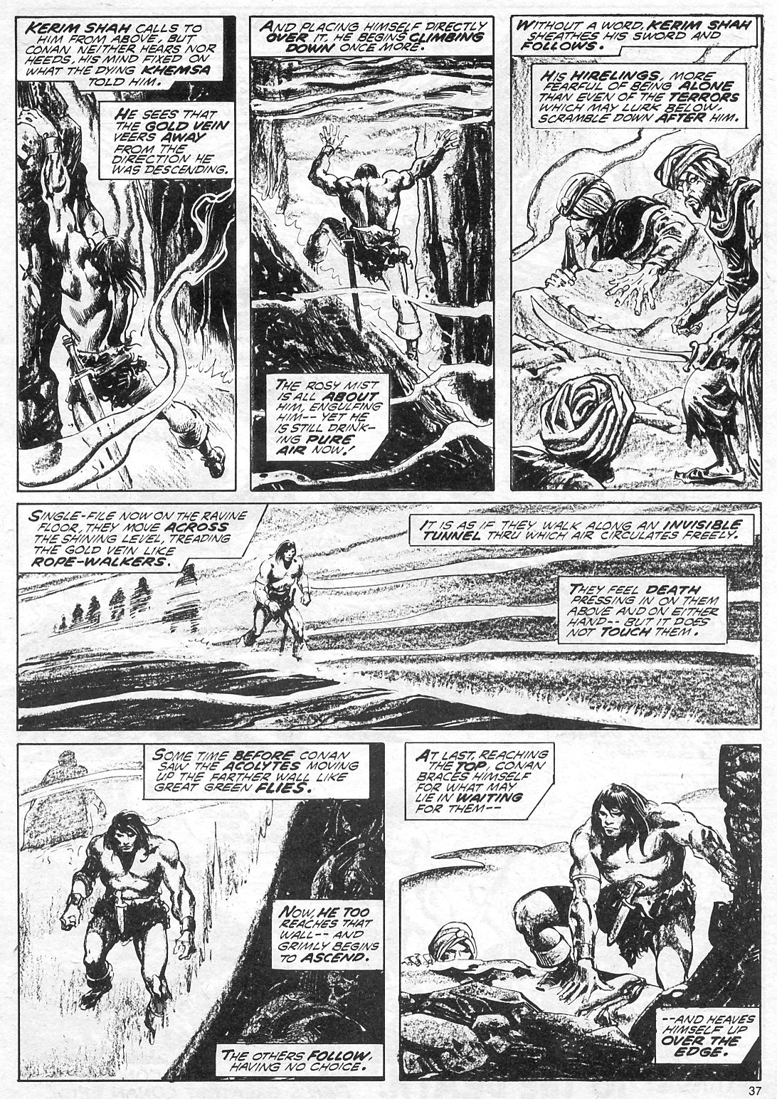 The Savage Sword Of Conan Issue #18 #19 - English 37
