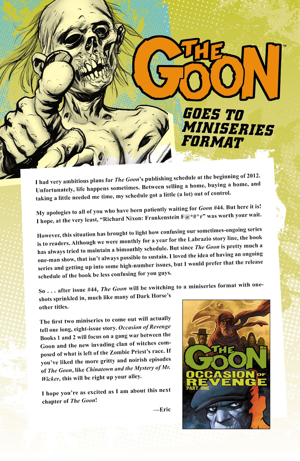 The Goon (2003) Issue #44 #44 - English 25