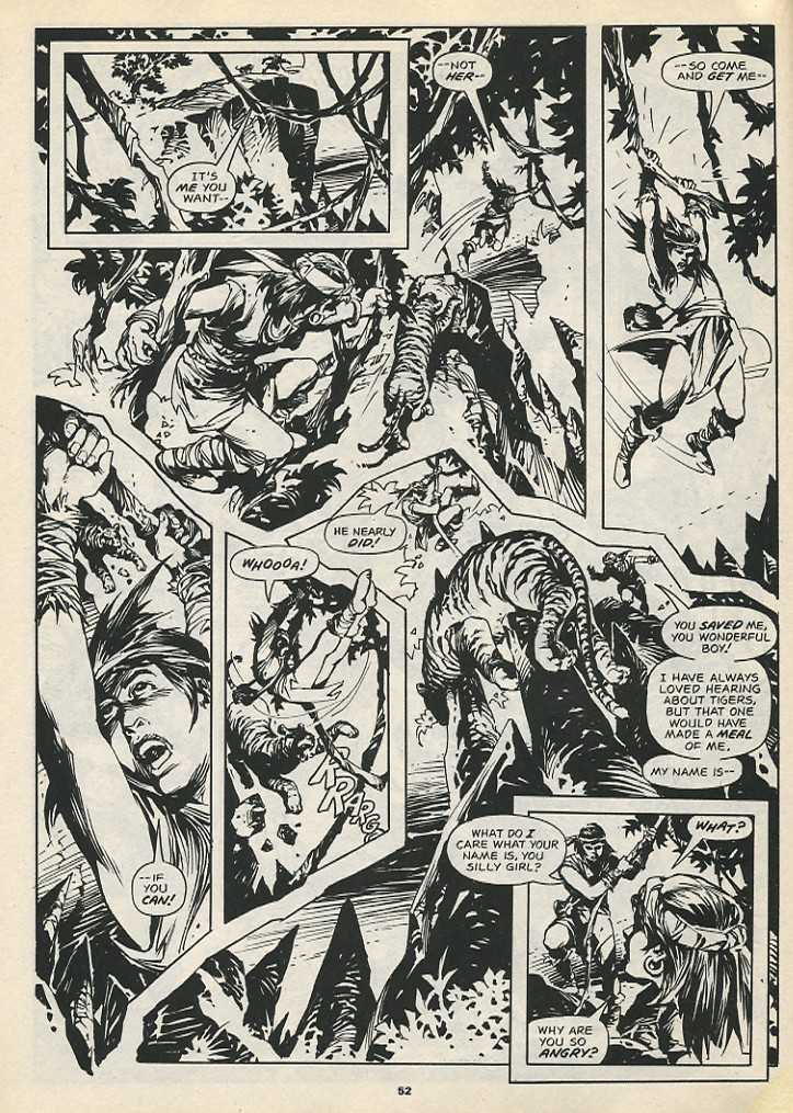 The Savage Sword Of Conan Issue #192 #193 - English 54