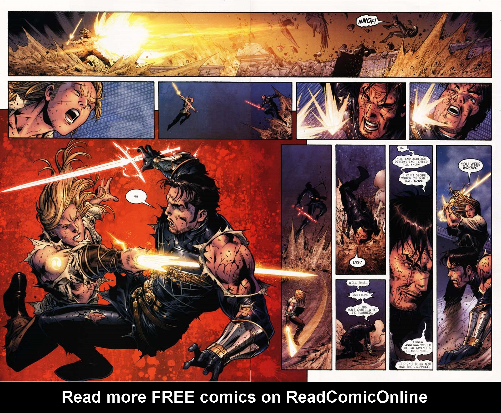Read online Scion comic -  Issue #25 - 30