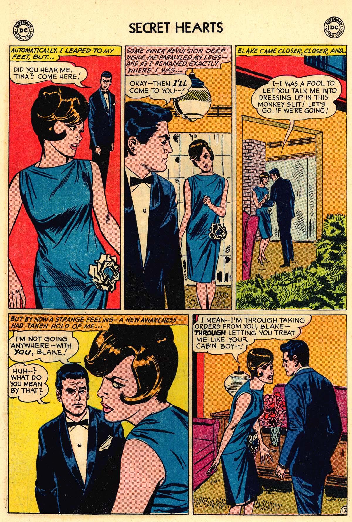 Read online Secret Hearts comic -  Issue #106 - 30