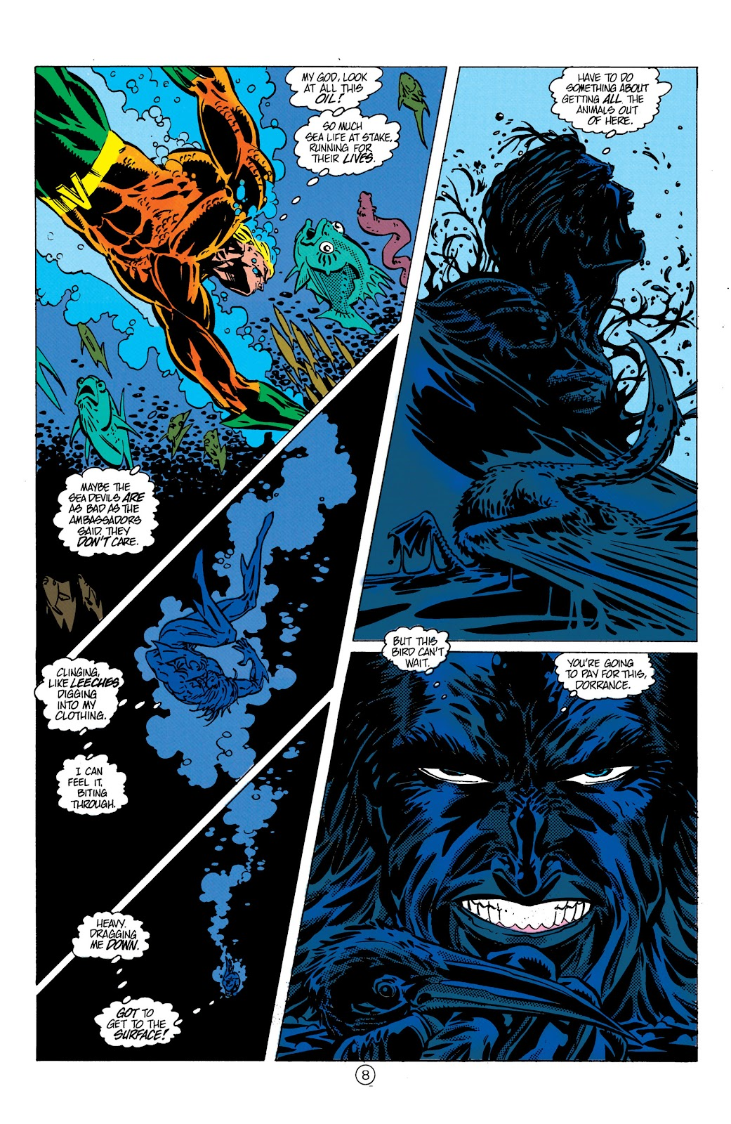 Aquaman (1991) Issue #9 #9 - English 9