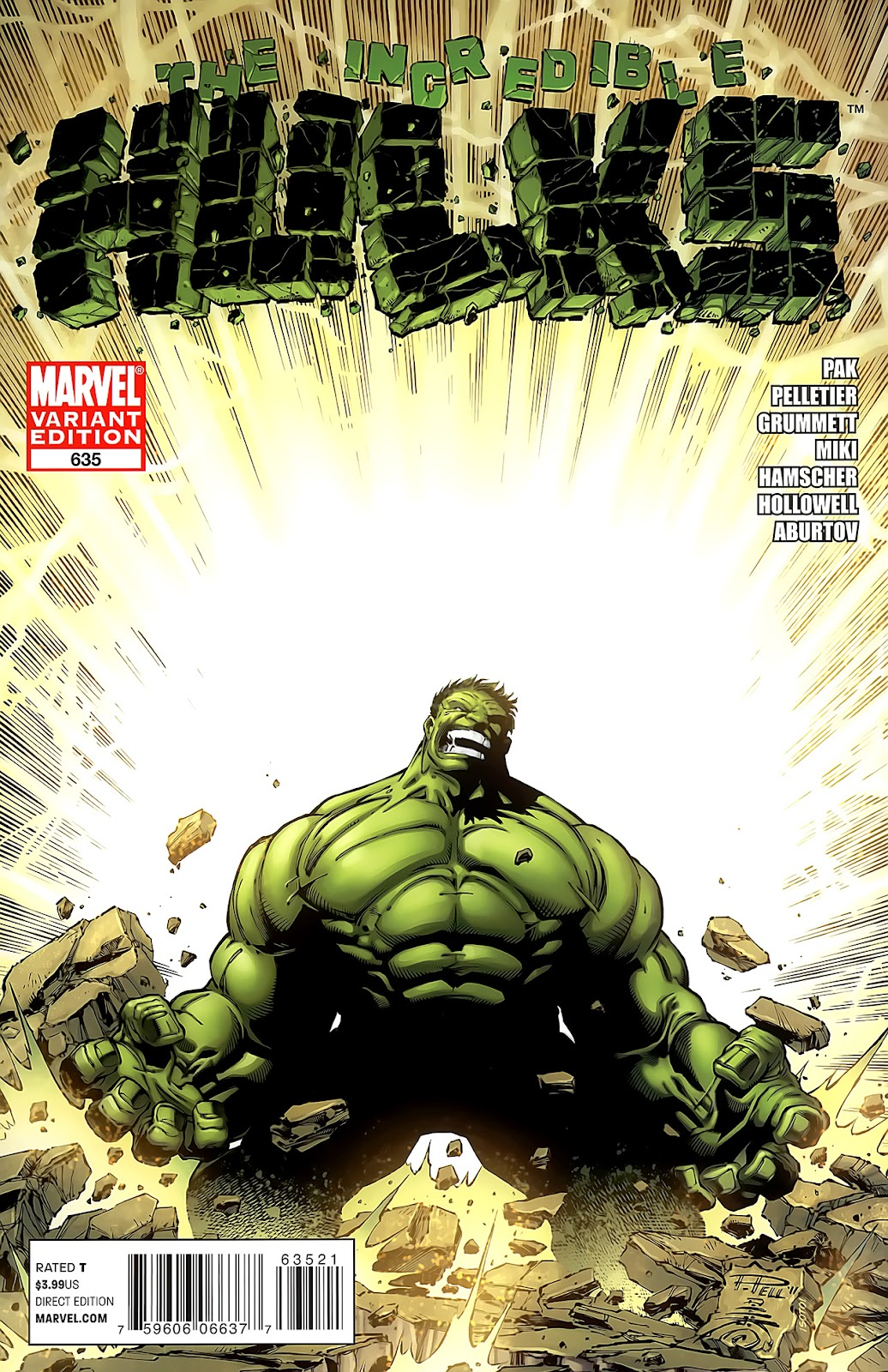 Incredible Hulks (2010) Issue #635 #25 - English 2