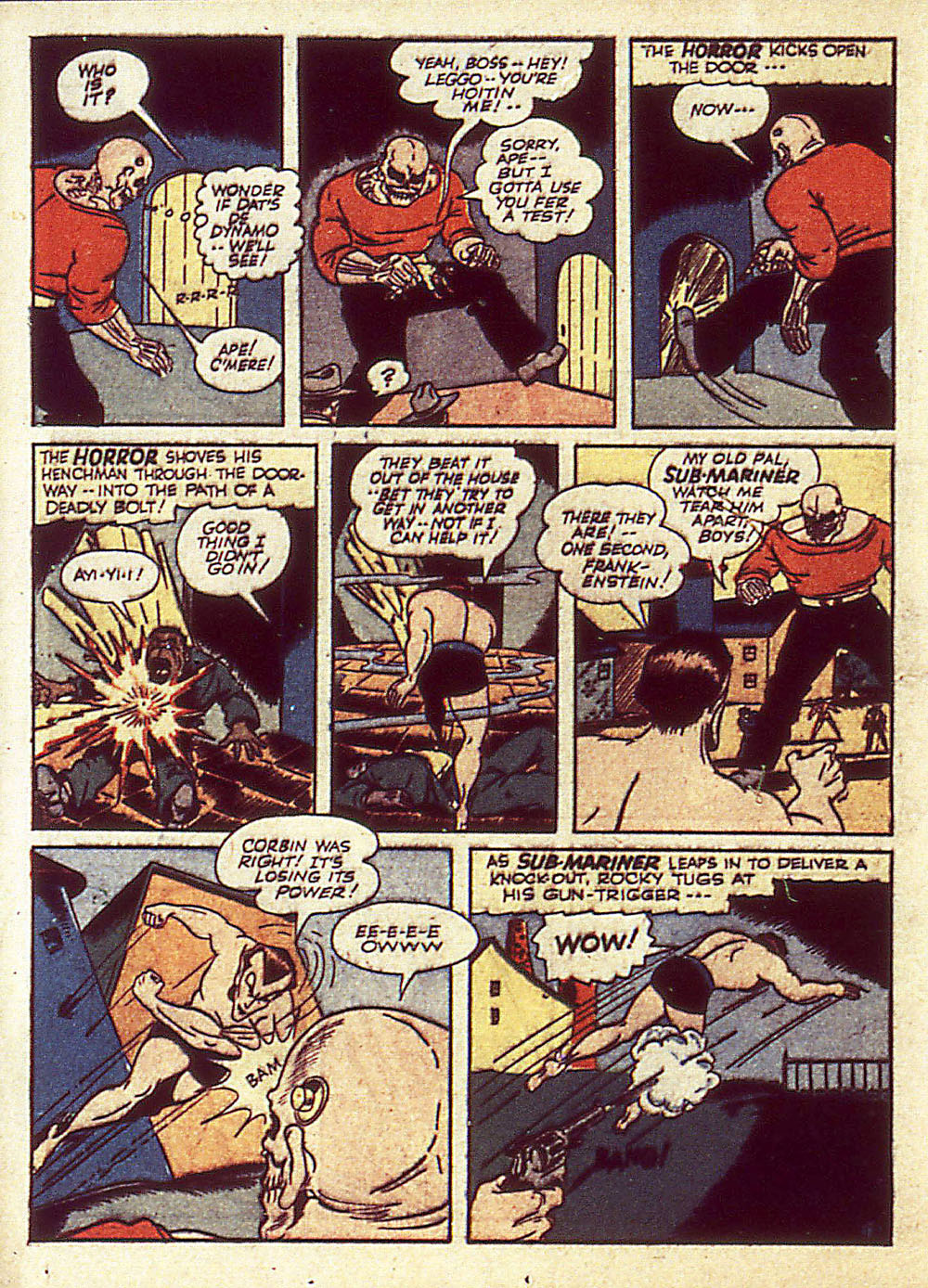 Sub-Mariner Comics Issue #4 #4 - English 37