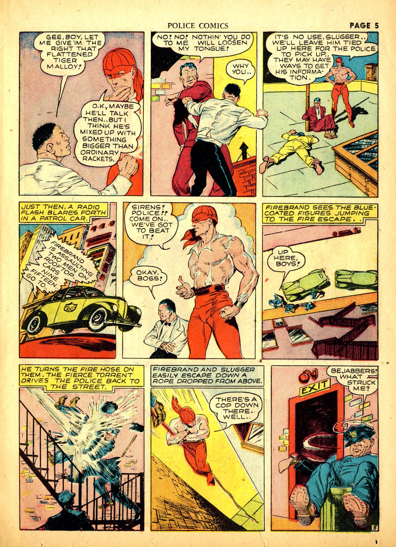 Police Comics #1 #127 - English 8