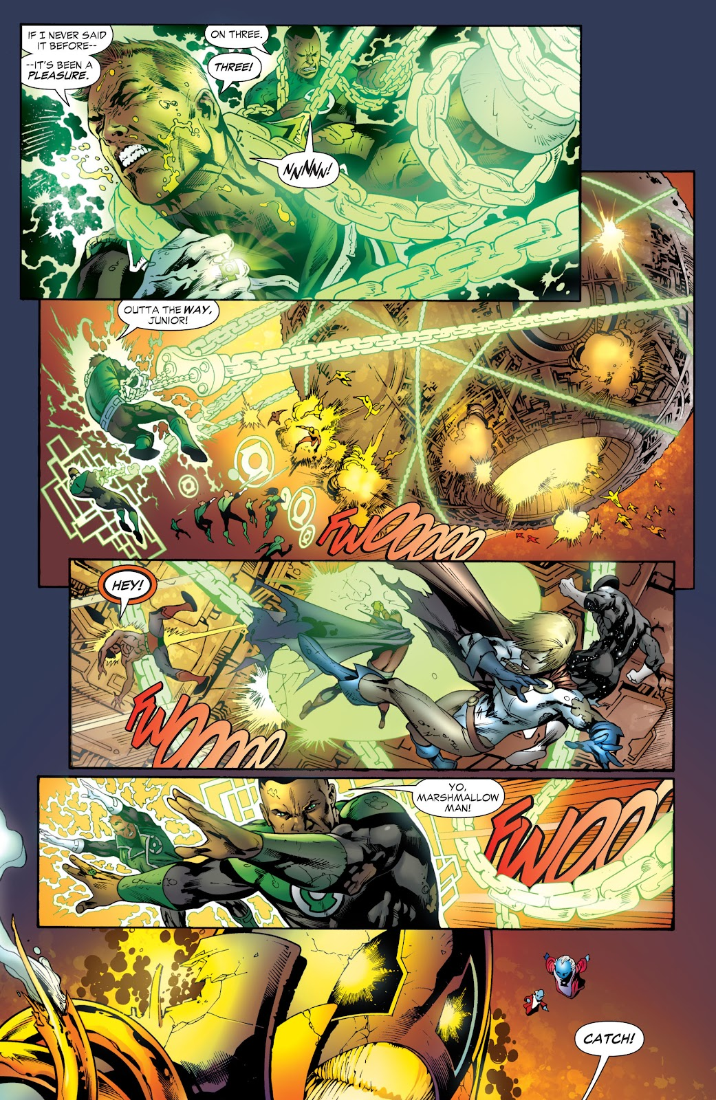 Green Lantern: The Sinestro Corps War Full #1 - English 269
