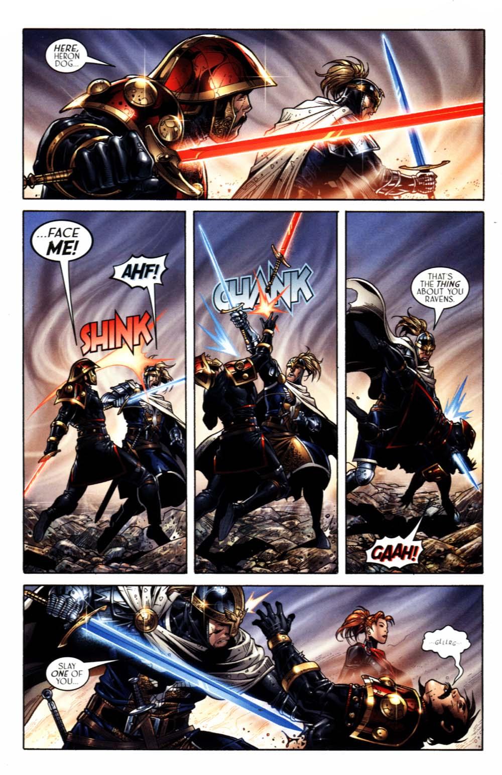 Read online Scion comic -  Issue #18 - 13