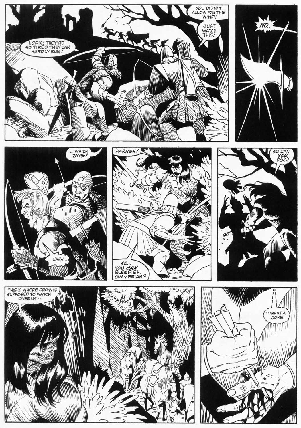 The Savage Sword Of Conan Issue #157 #158 - English 42