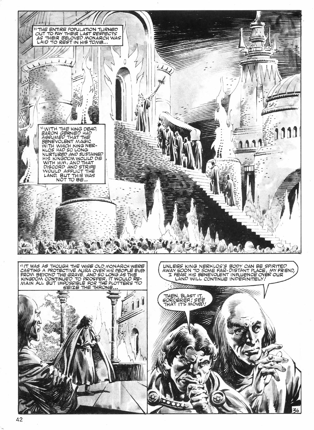 The Savage Sword Of Conan Issue #98 #99 - English 42