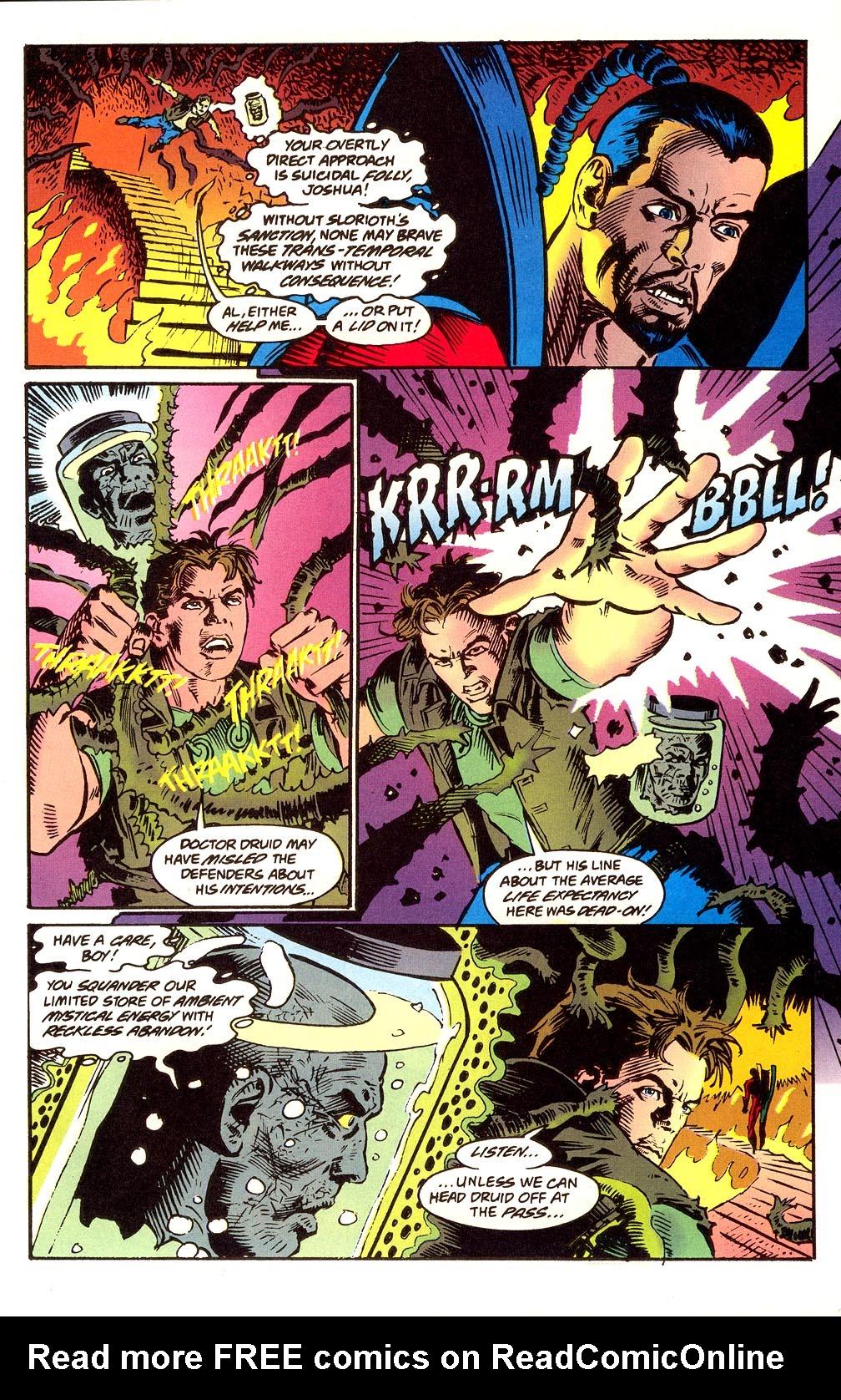 Read online Secret Defenders comic -  Issue #24 - 10