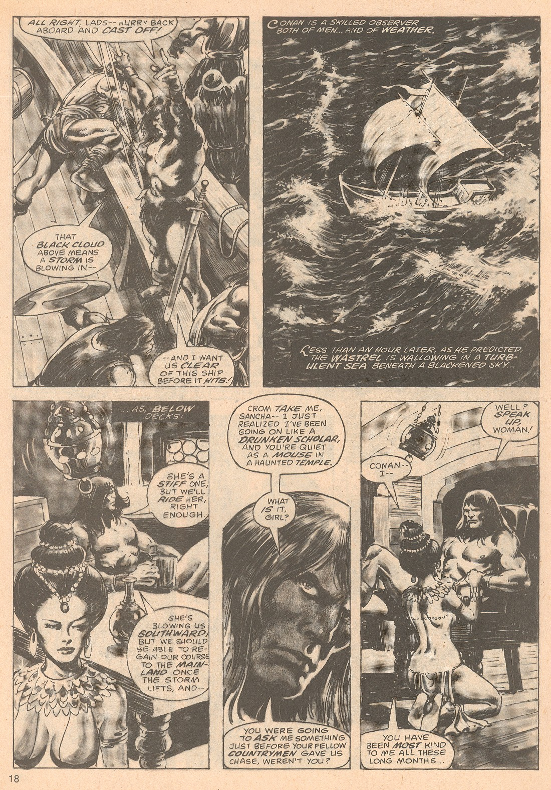 The Savage Sword Of Conan Issue #67 #68 - English 18
