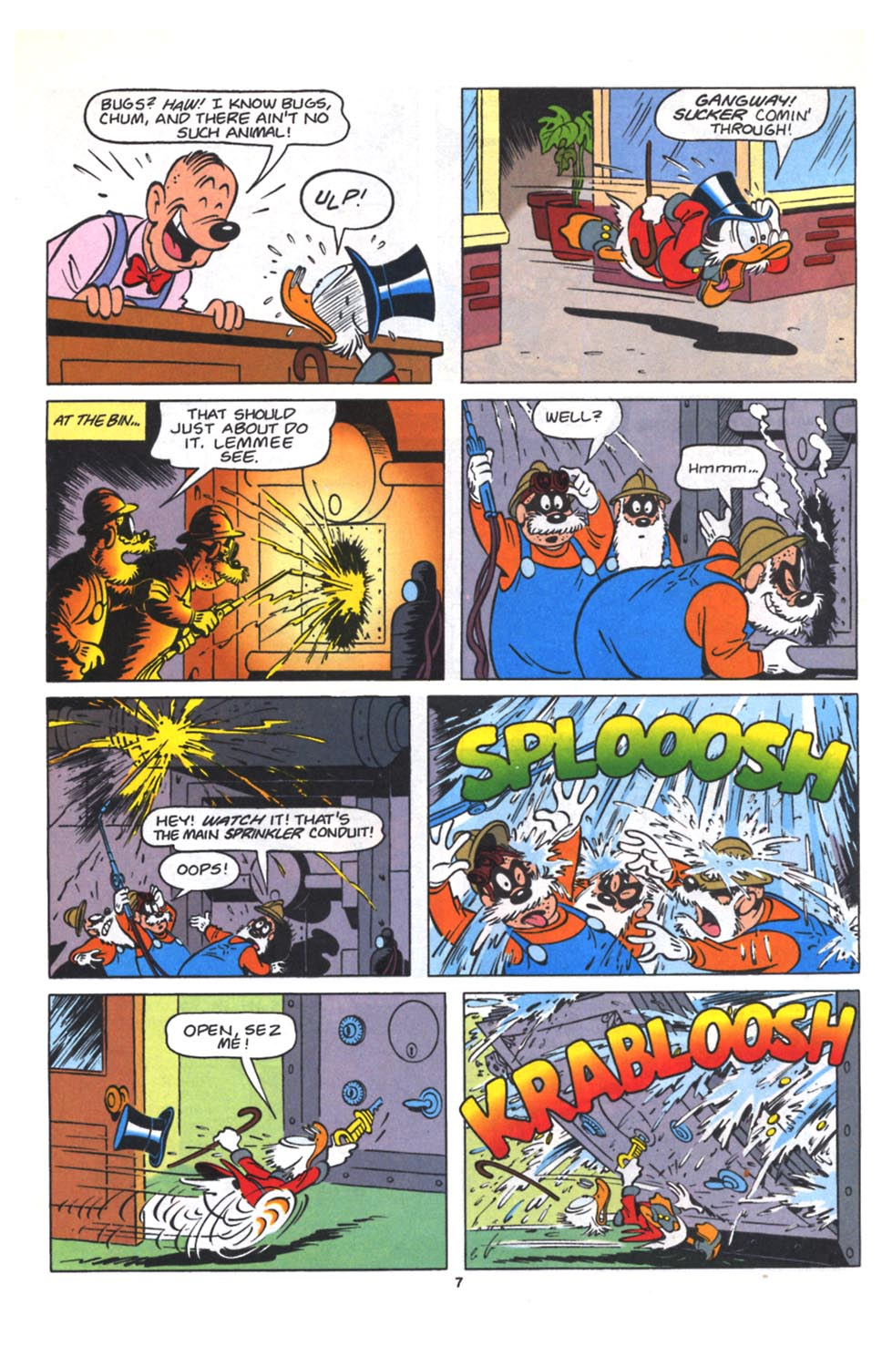 Uncle Scrooge (1953) Issue #264 #264 - English 17