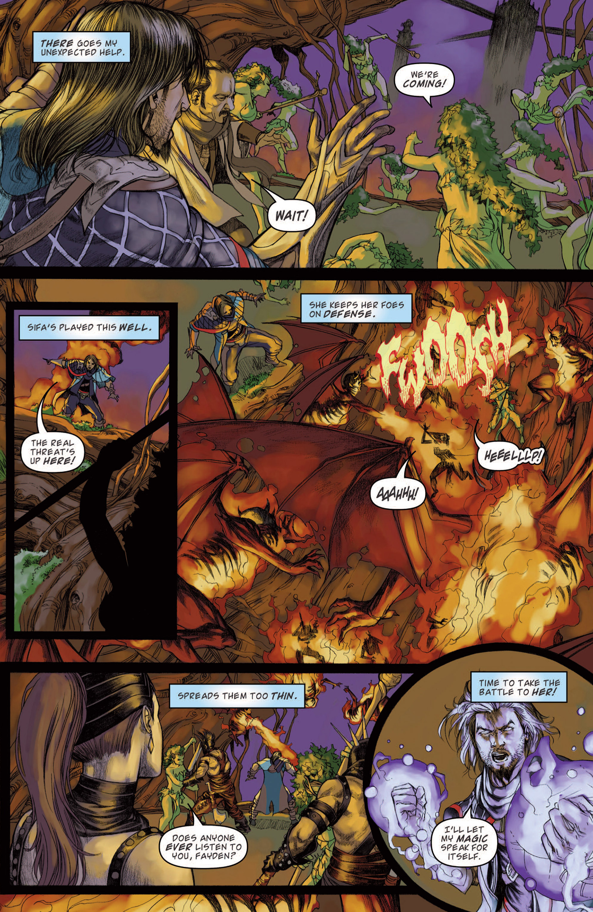 Read online Magic: The Gathering--Path of Vengeance comic -  Issue #4 - 7