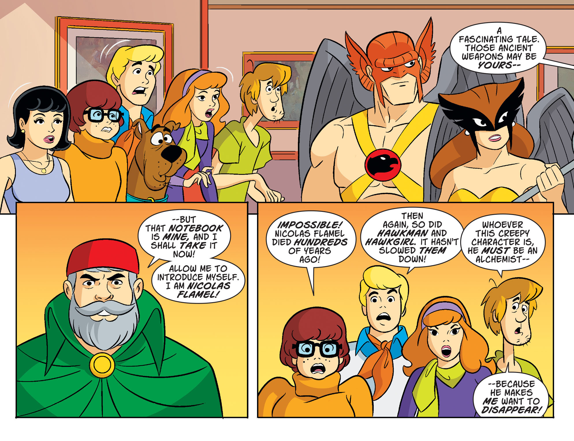 Read online Scooby-Doo! Team-Up comic -  Issue #33 - 16