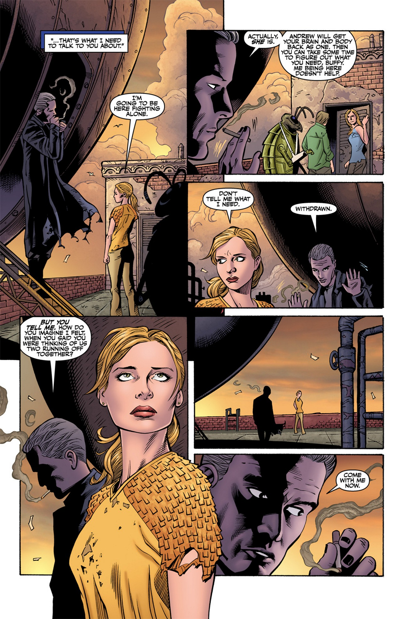 Read online Buffy the Vampire Slayer Season Nine comic -  Issue #10 - 19