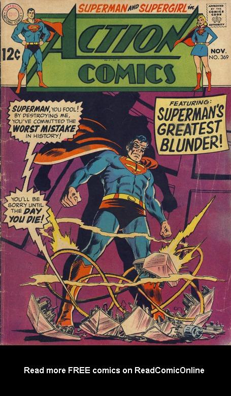 Action Comics (1938) 369 Page 1