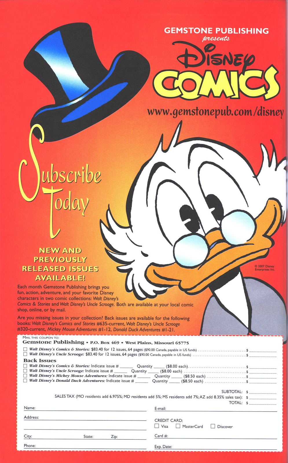 Uncle Scrooge (1953) Issue #369 #369 - English 44