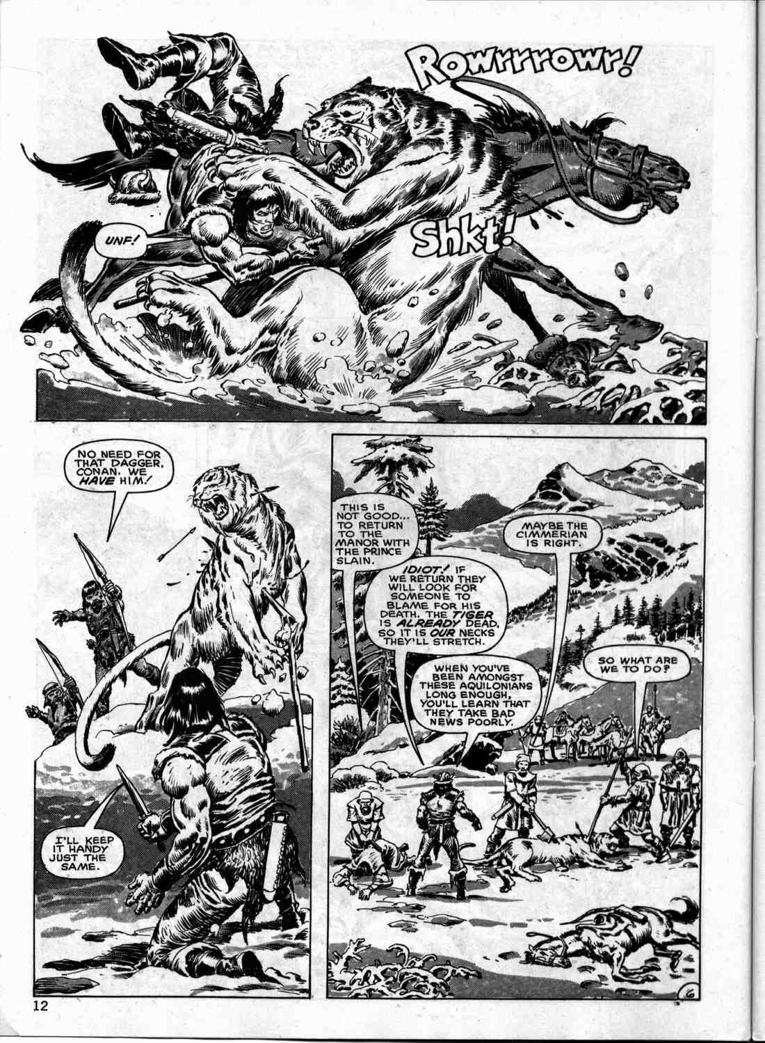 The Savage Sword Of Conan Issue #133 #134 - English 11