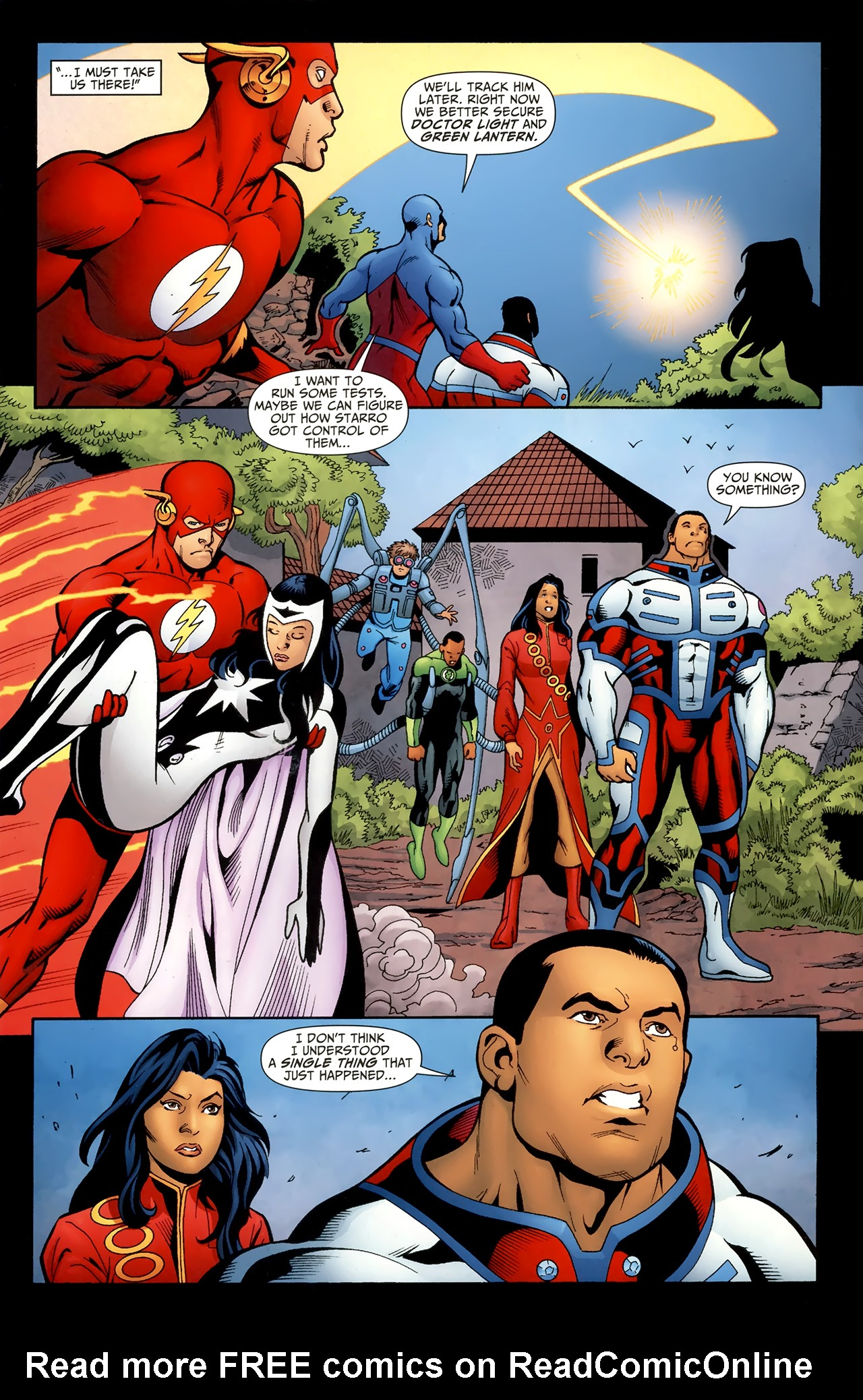 Read online Justice League of America/The 99 comic -  Issue #4 - 7