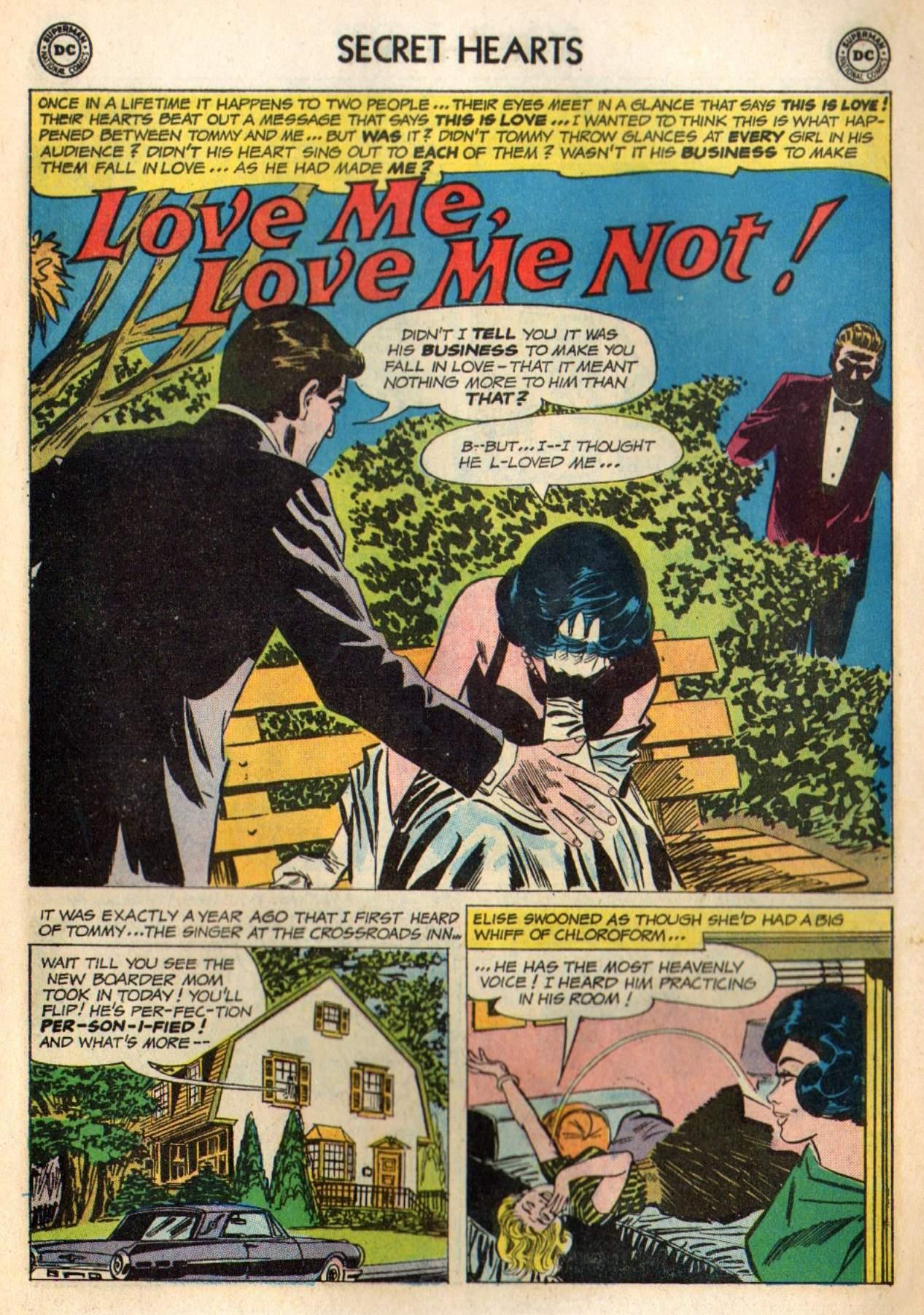 Read online Secret Hearts comic -  Issue #98 - 11