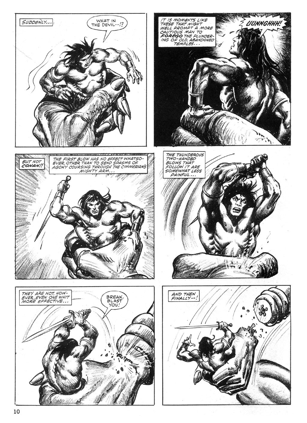 The Savage Sword Of Conan Issue #89 #90 - English 10