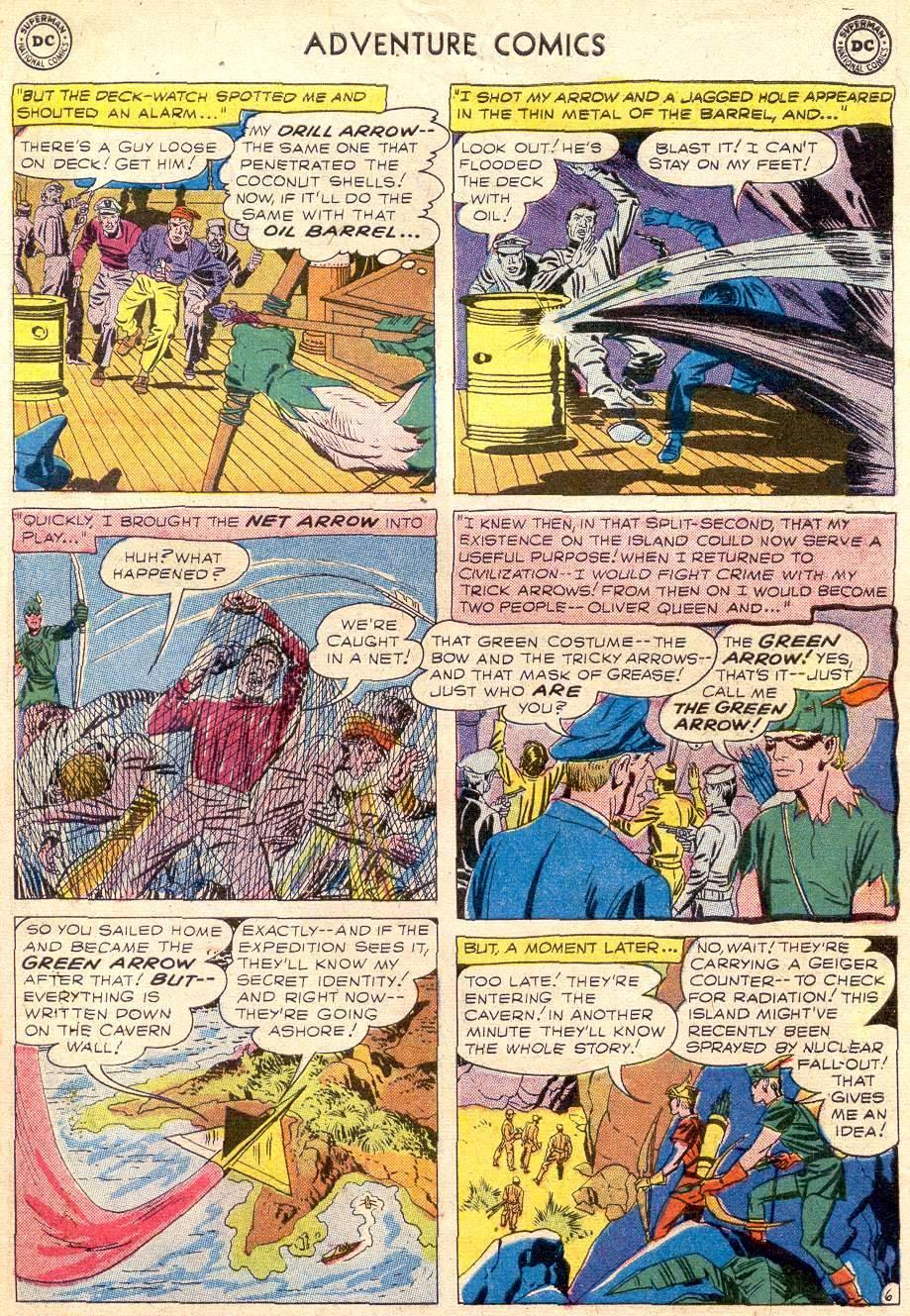 Read online Adventure Comics (1938) comic -  Issue #256 - 31