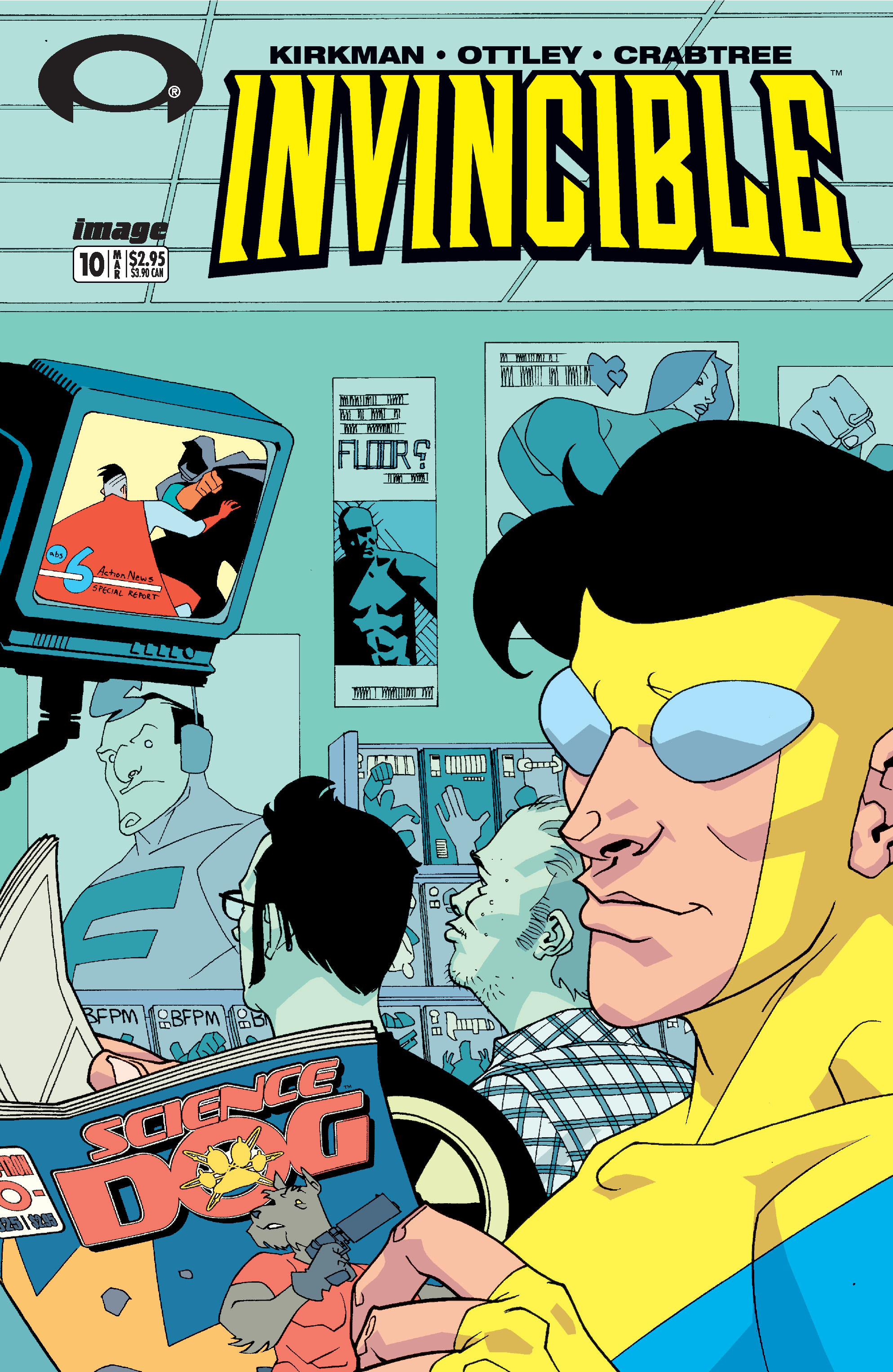 Invincible 10 Page 1