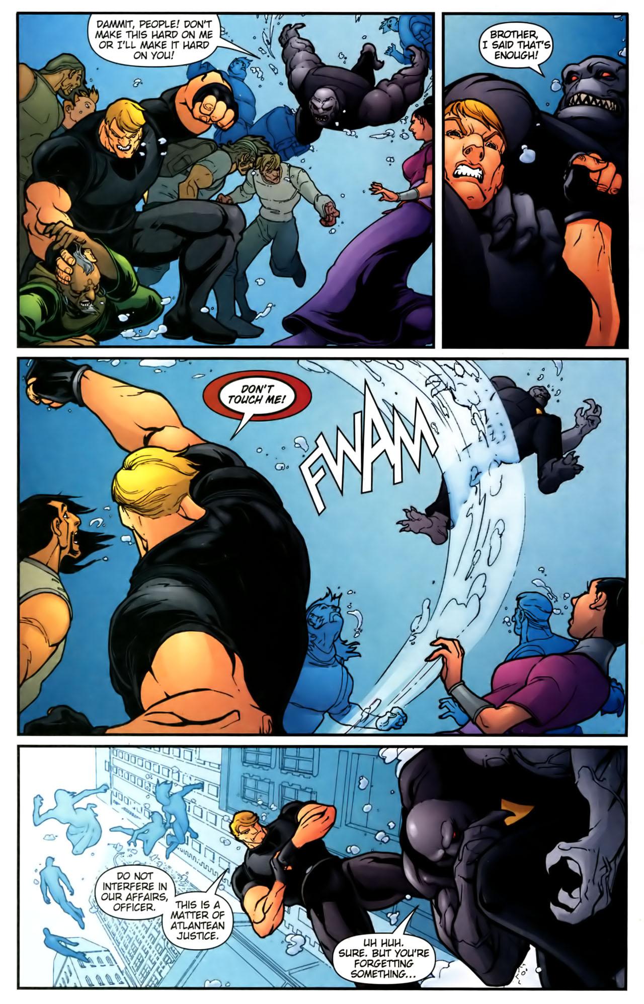 Read online Aquaman (2003) comic -  Issue #39 - 4