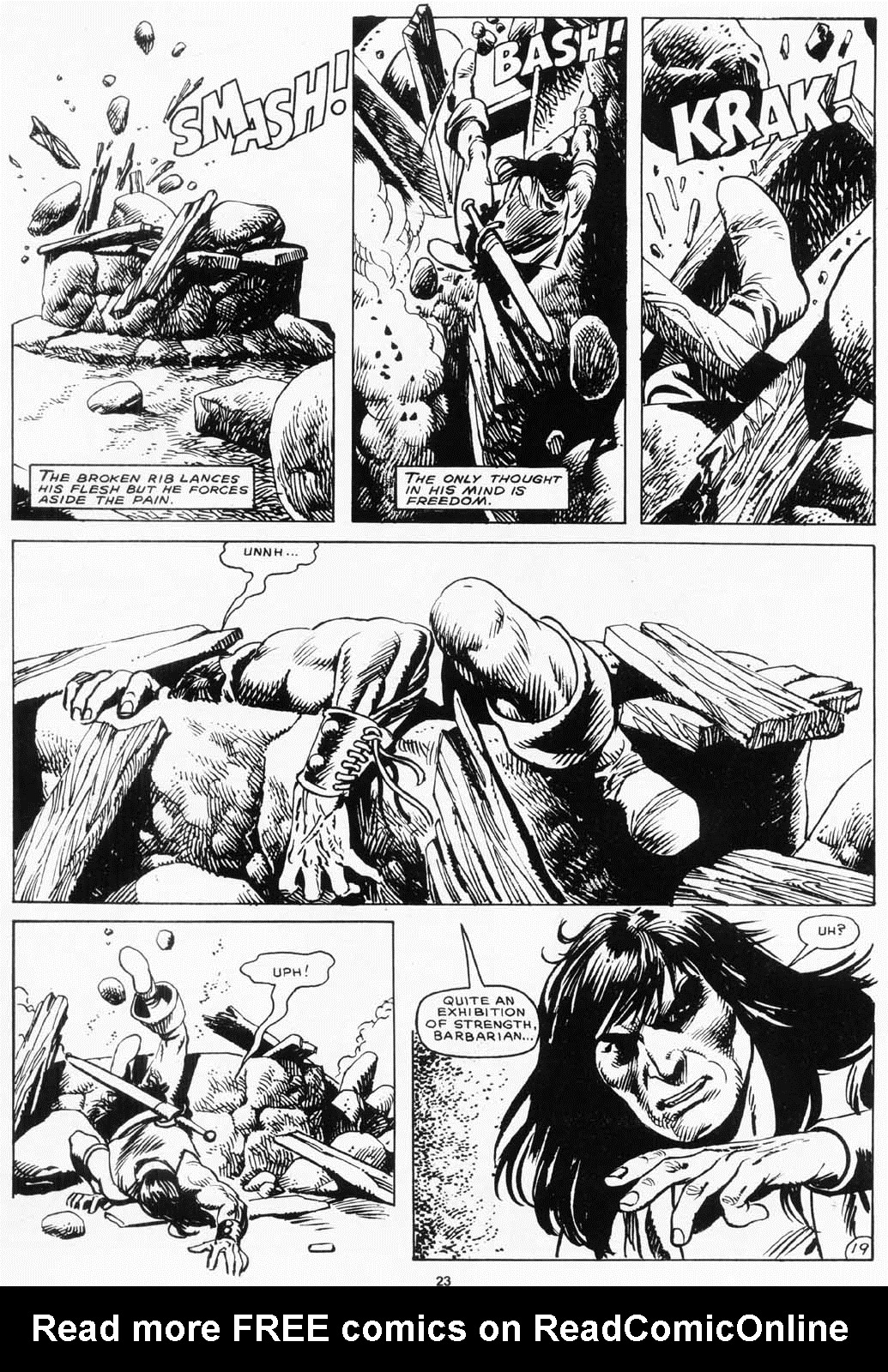 The Savage Sword Of Conan Issue #156 #157 - English 24
