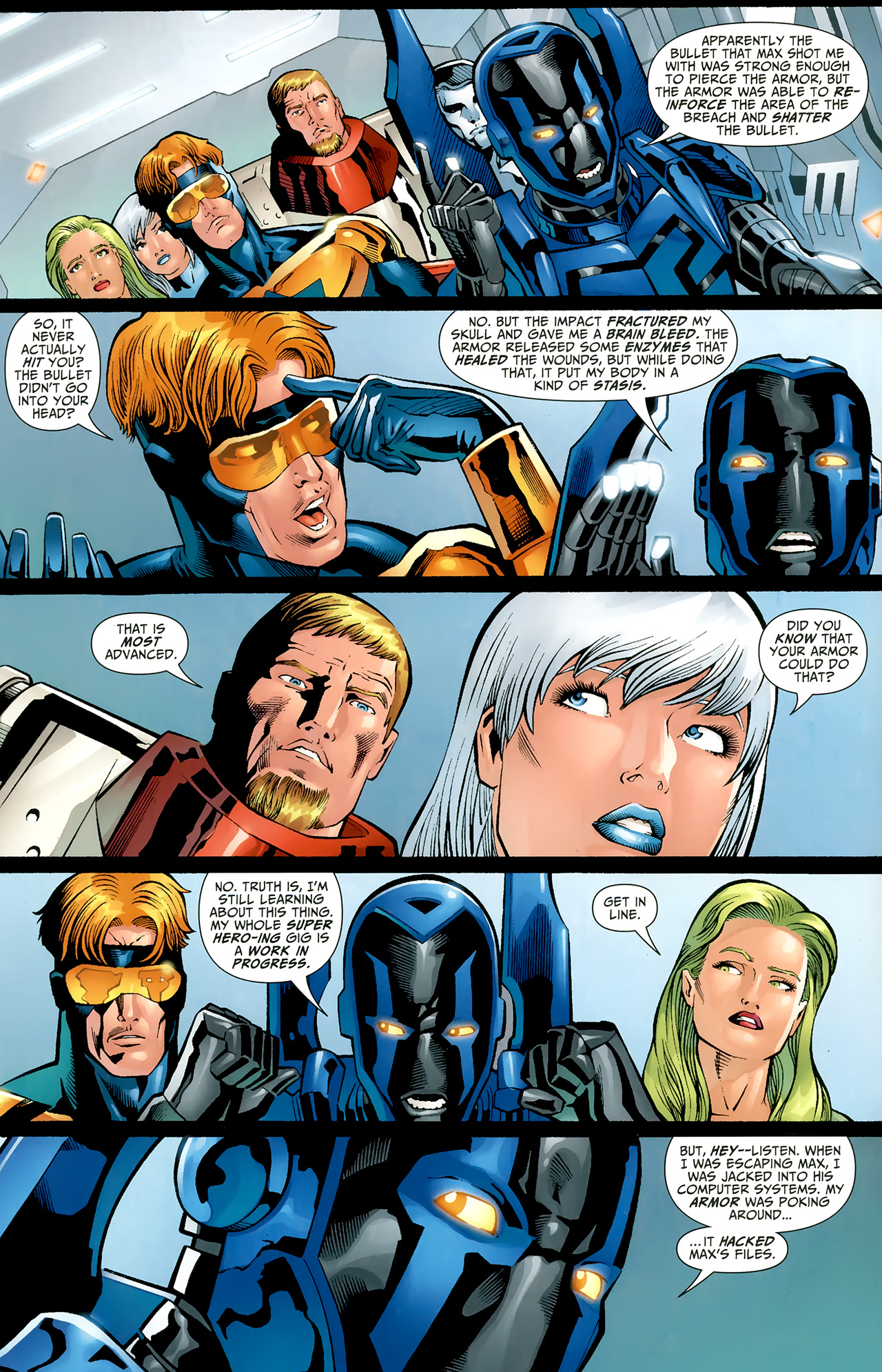 Read online Justice League: Generation Lost comic -  Issue #22 - 6