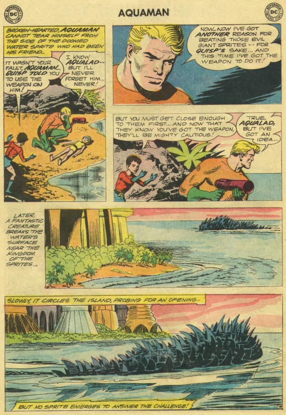 Aquaman (1962) Issue #10 #10 - English 26