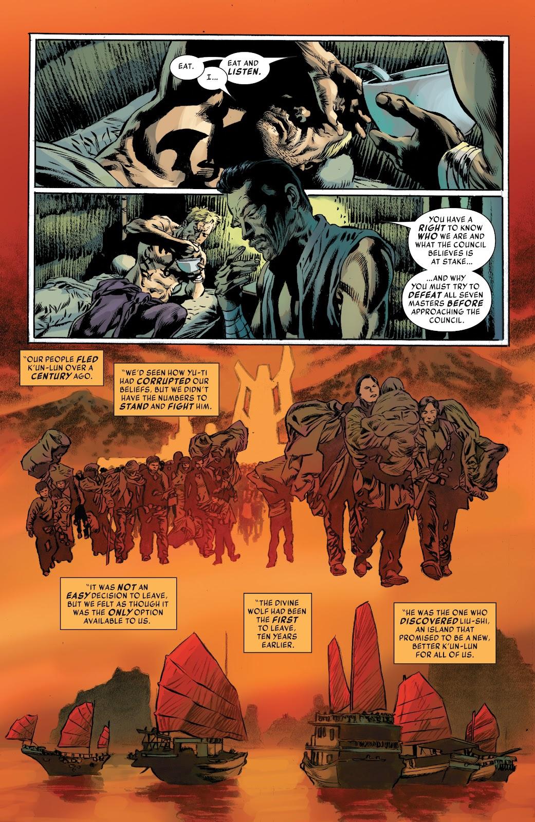 Iron Fist (2017) Issue #4 #4 - English 9