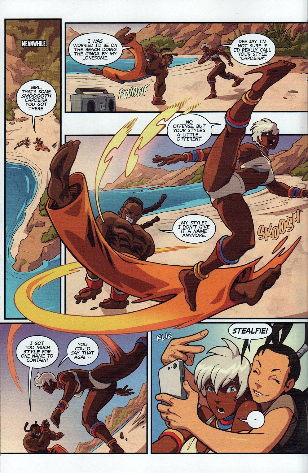 Street Fighter Unlimited Issue #7 #9 - English 12