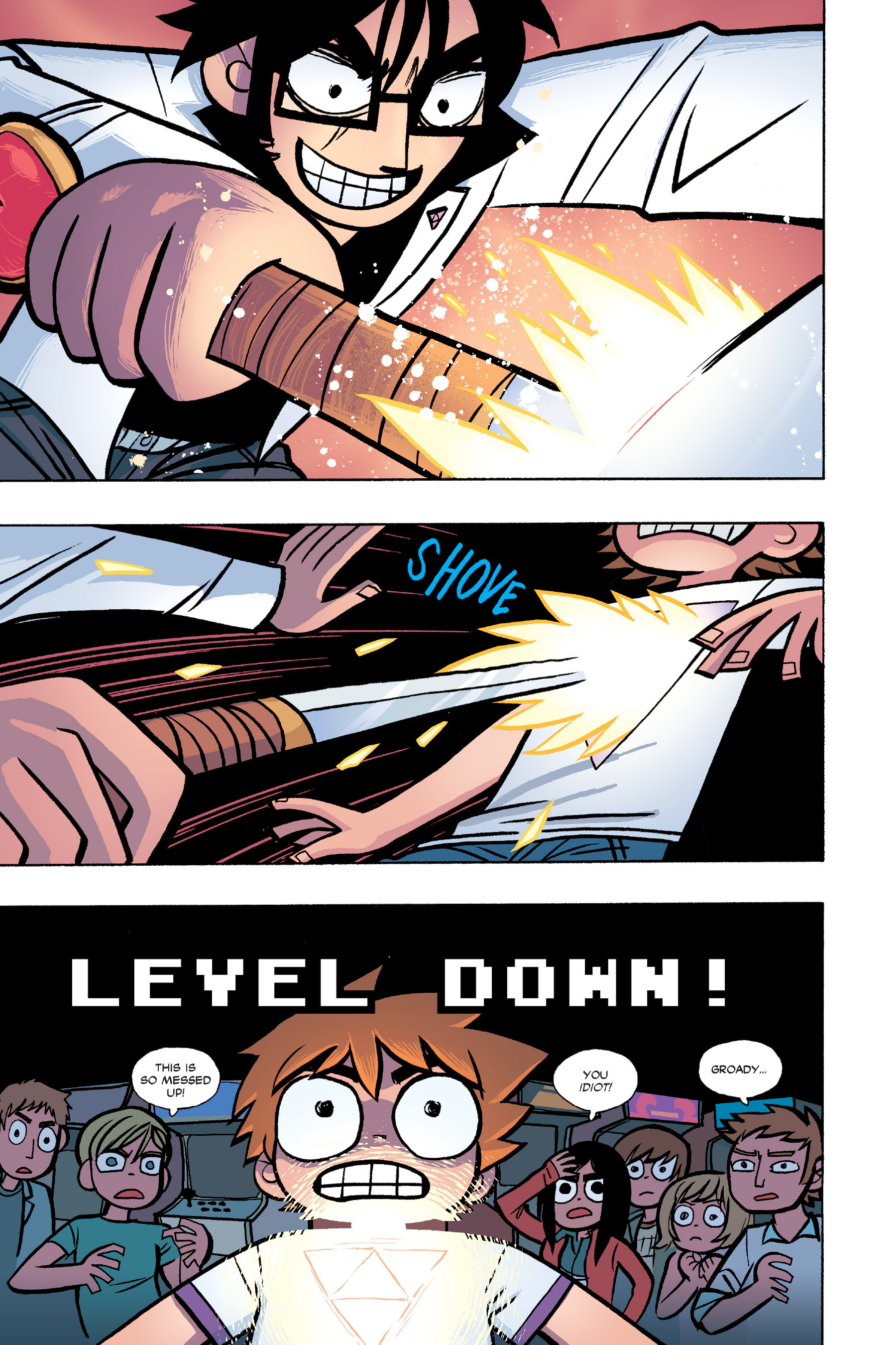 Read online Scott Pilgrim comic -  Issue #6 - 122