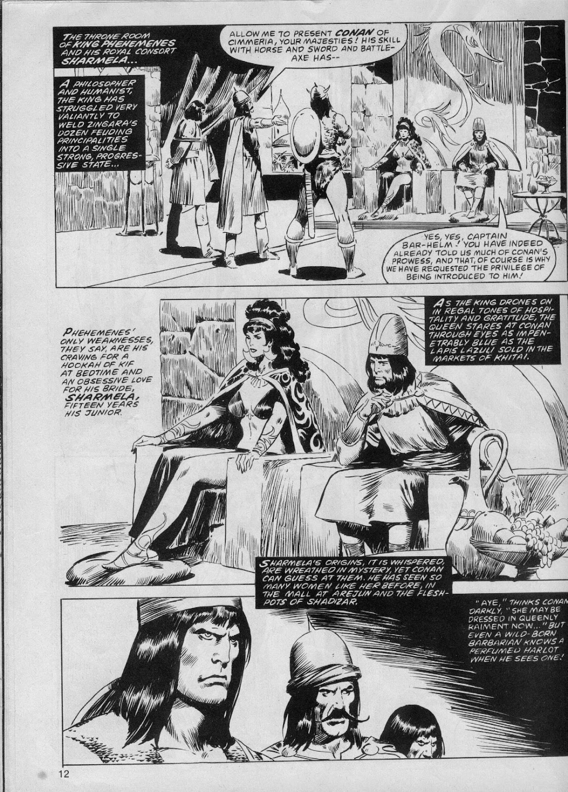 The Savage Sword Of Conan Issue #61 #62 - English 12