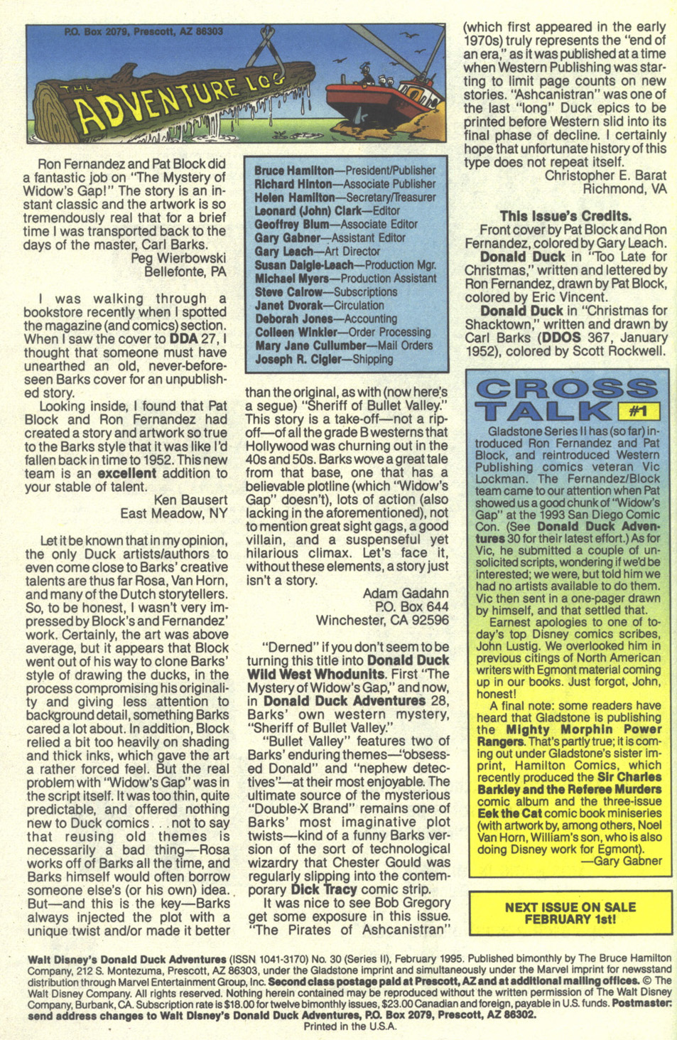 Walt Disney's Donald Duck Adventures (1987) Issue #30 #30 - English 66