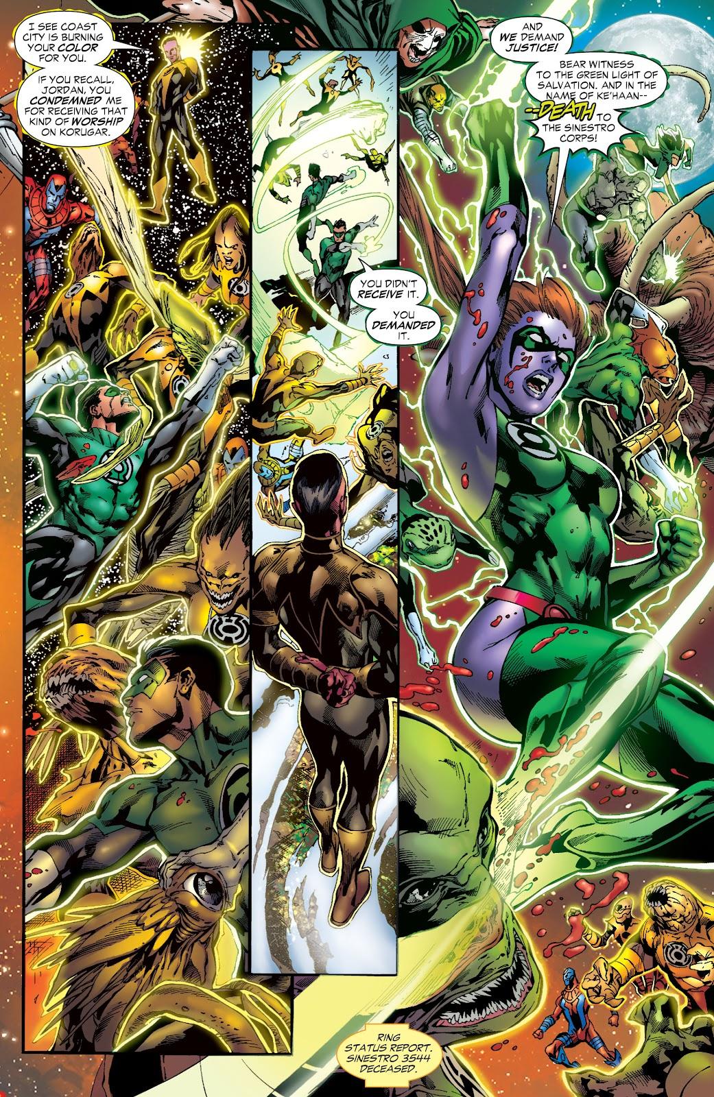 Green Lantern: The Sinestro Corps War Full #1 - English 261
