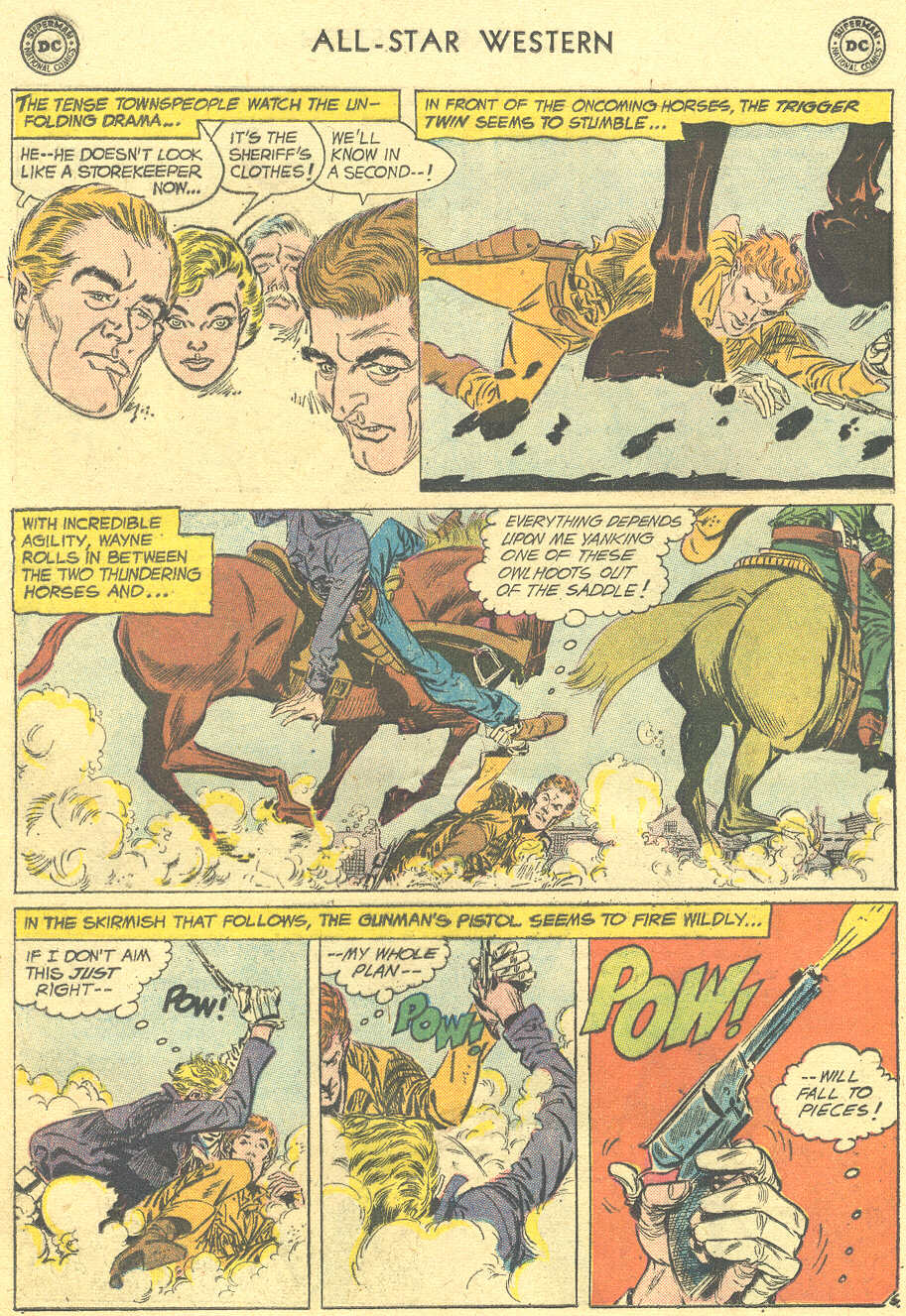 Read online All-Star Western (1951) comic -  Issue #105 - 8