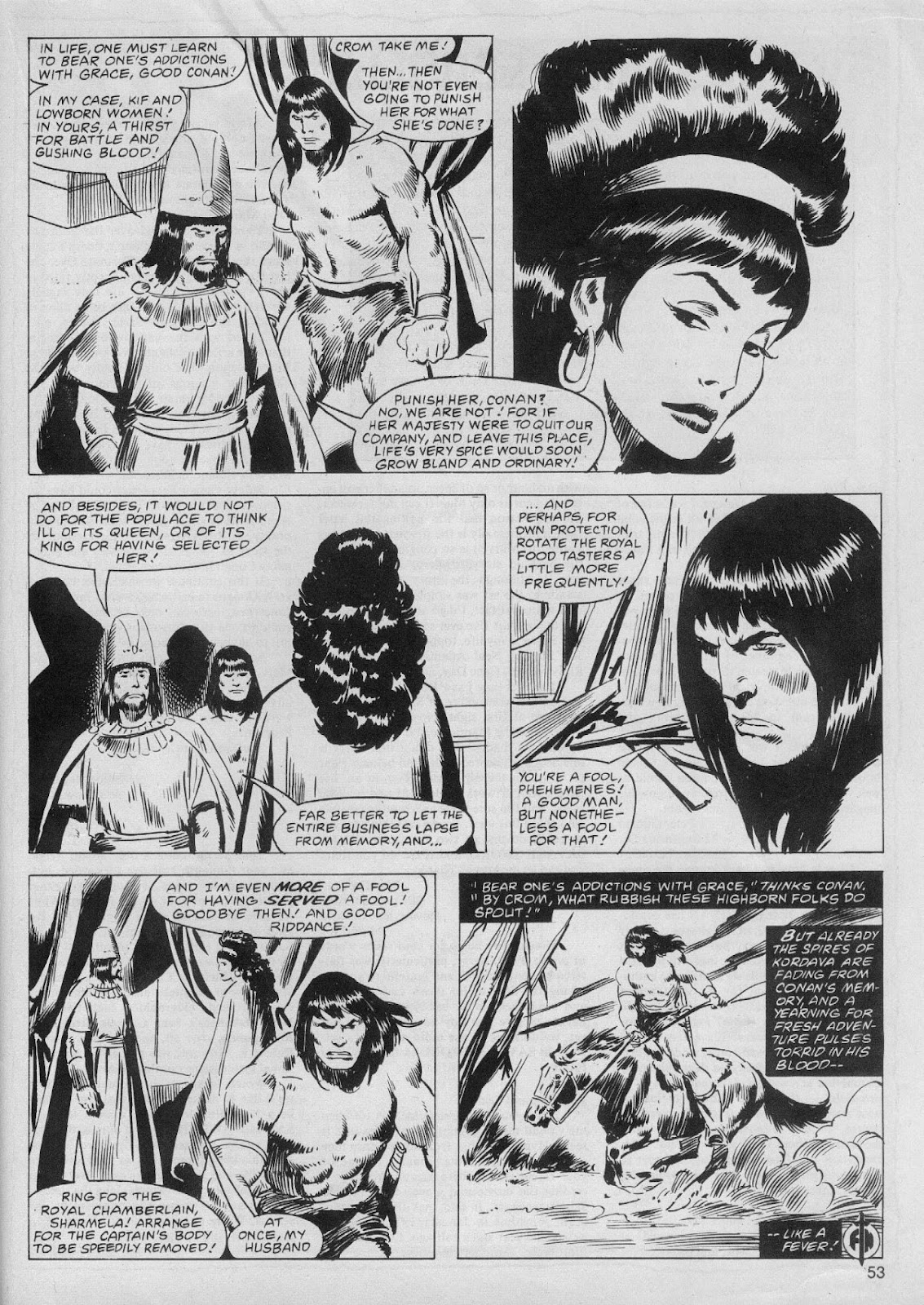 The Savage Sword Of Conan Issue #61 #62 - English 53