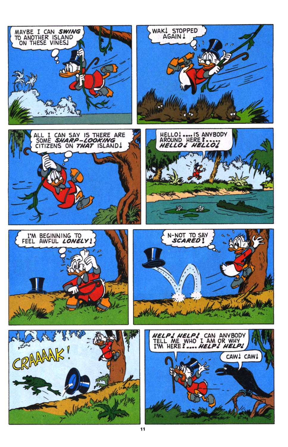 Uncle Scrooge (1953) Issue #258 #258 - English 12