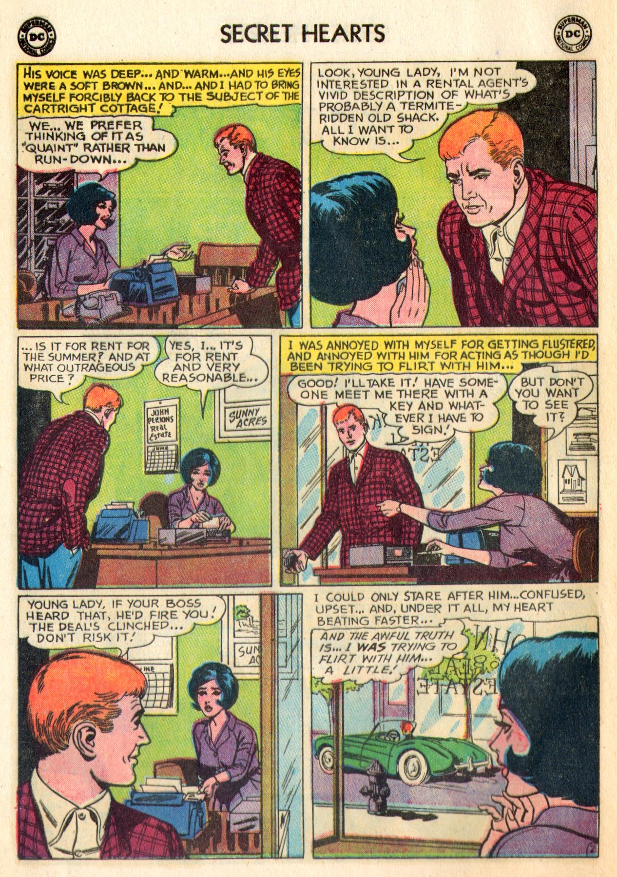 Read online Secret Hearts comic -  Issue #84 - 12