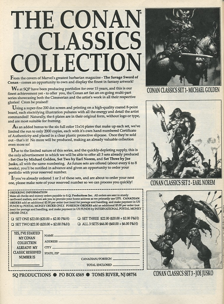 The Savage Sword Of Conan Issue #174 #175 - English 64