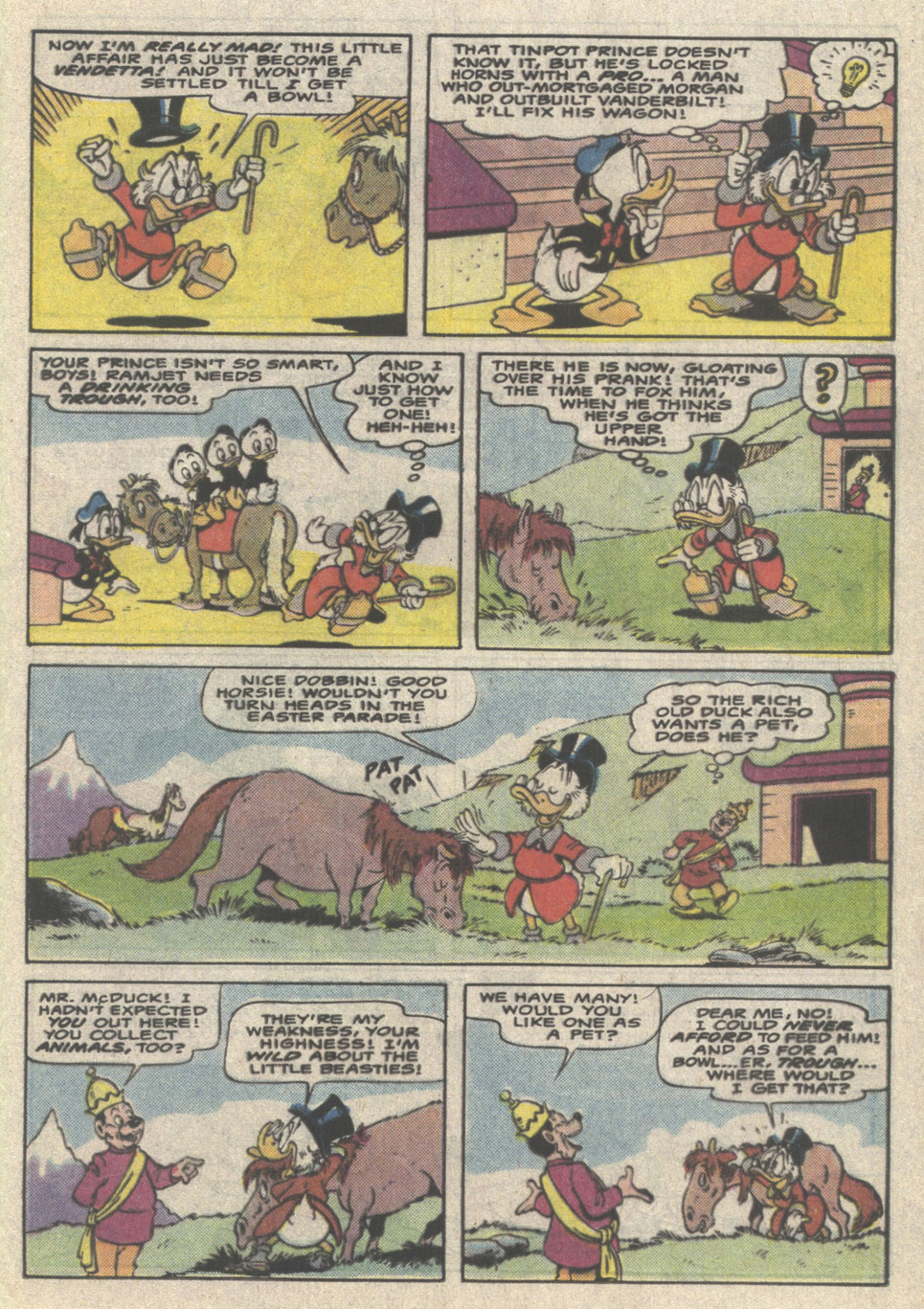Uncle Scrooge (1953) Issue #223 #223 - English 21