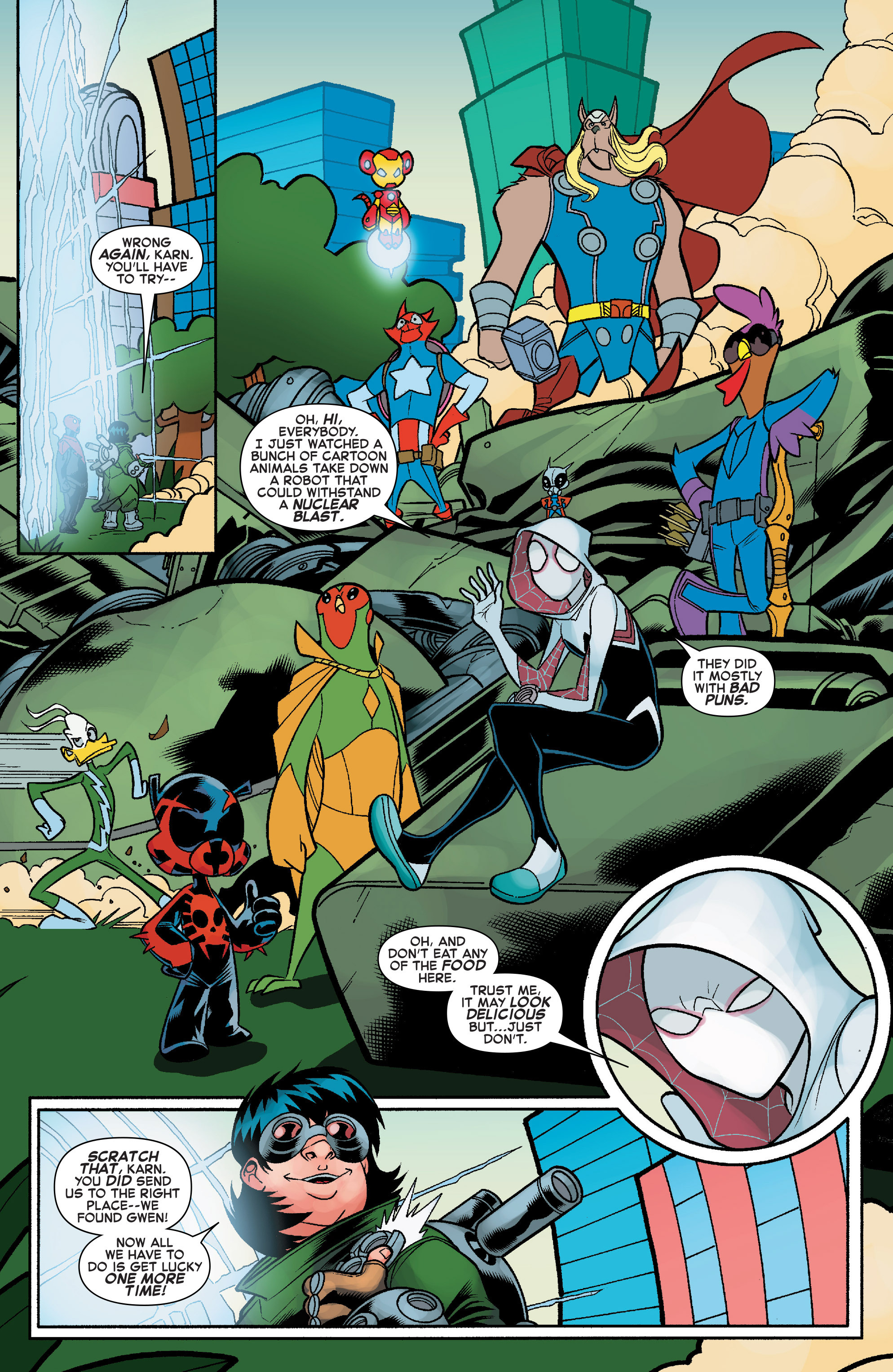 Read online Web Warriors comic -  Issue #10 - 16