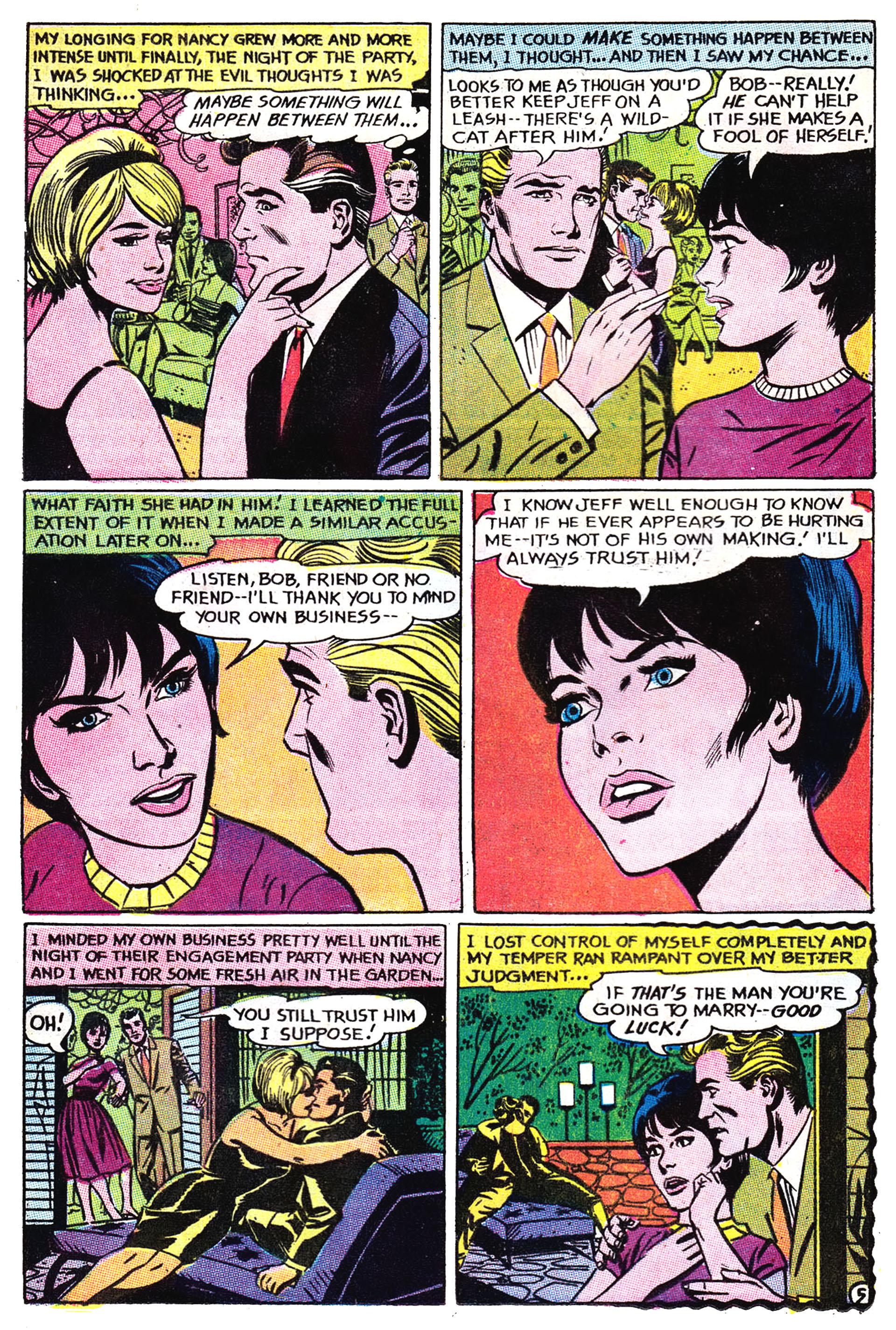 Read online Secret Hearts comic -  Issue #132 - 12