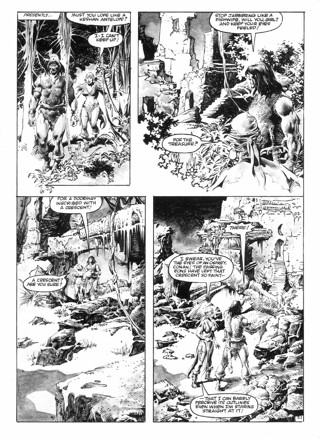The Savage Sword Of Conan Issue #98 #99 - English 27