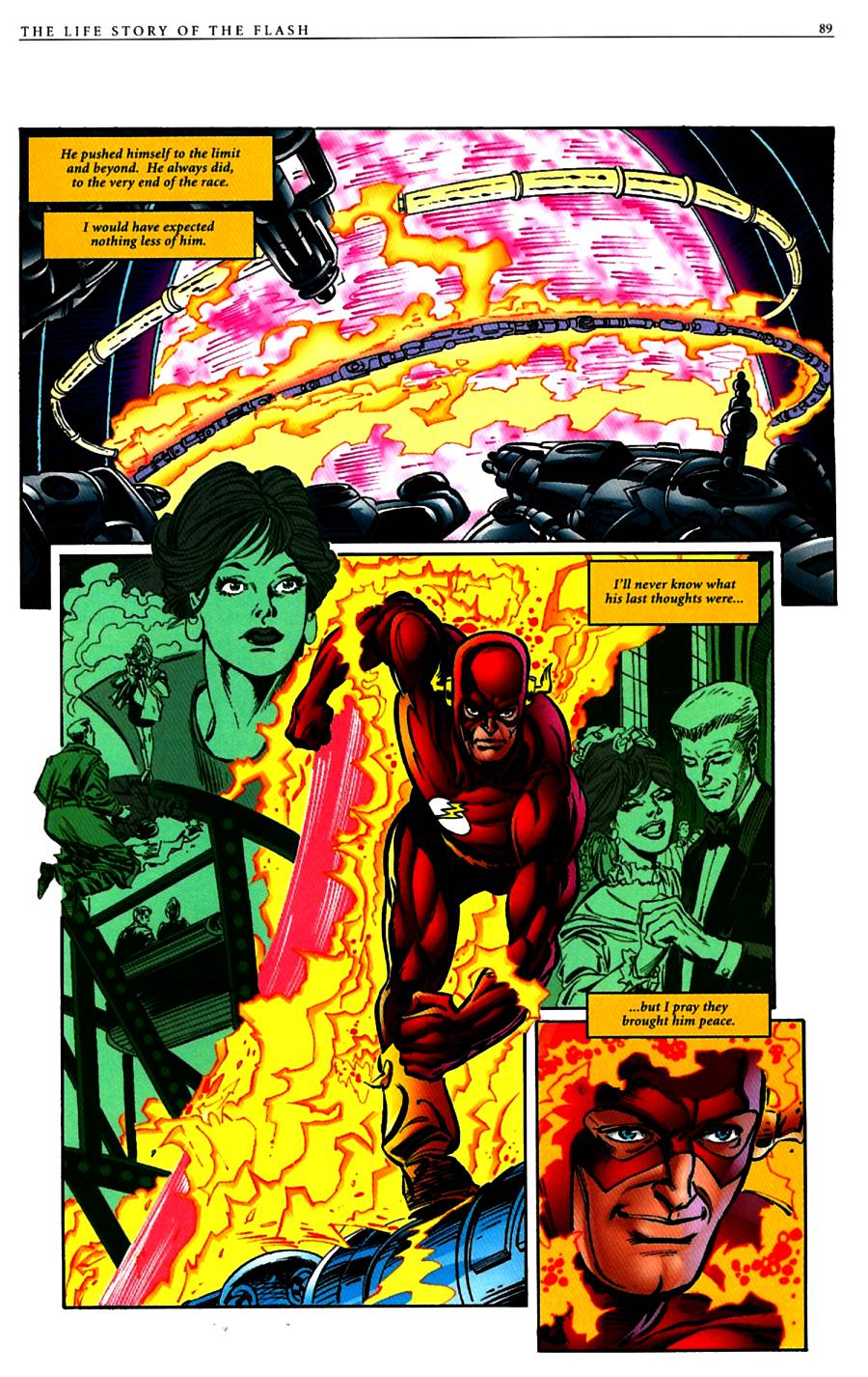 Read online The Life Story of the Flash comic -  Issue # Full - 91