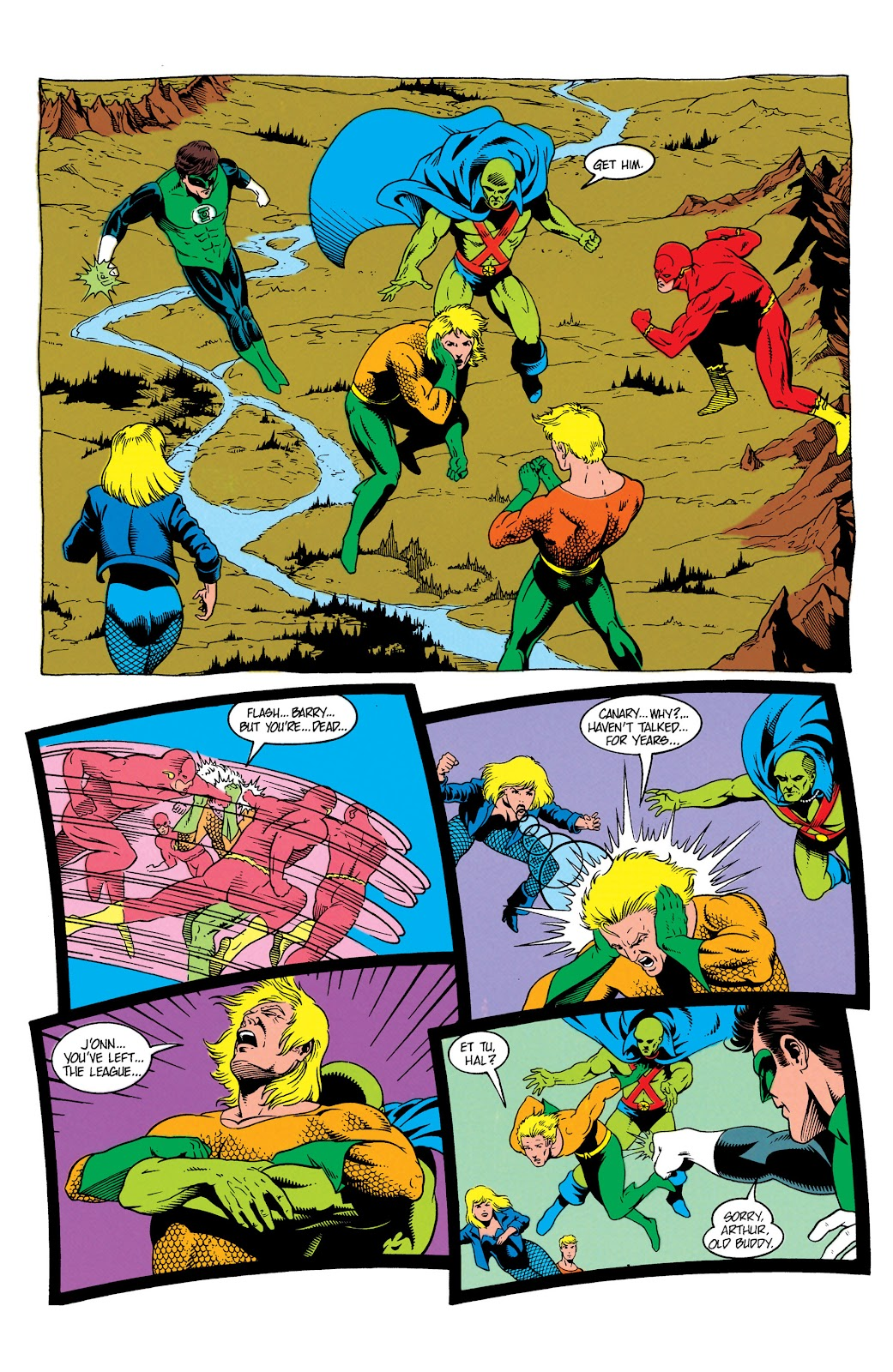Aquaman (1991) Issue #7 #7 - English 4